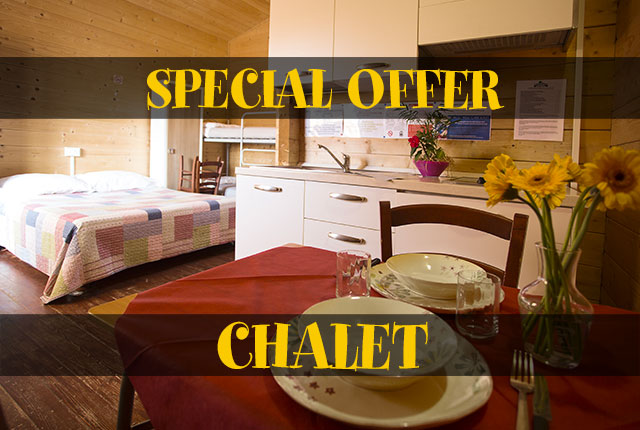 SPECIAL OFFER CHALET