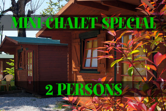 2 PERSONS MINI-CHALET SPECIAL