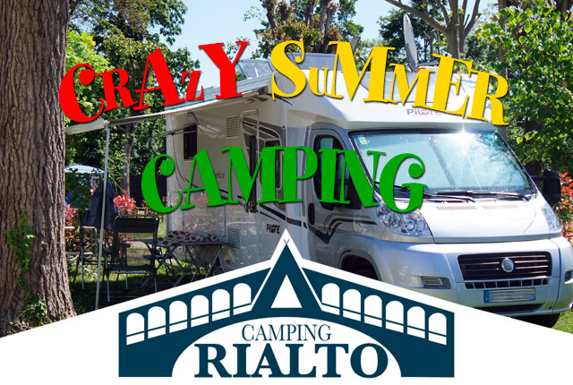 SPECIAL OFFER CRAZY SUMMER IN CAMPING!