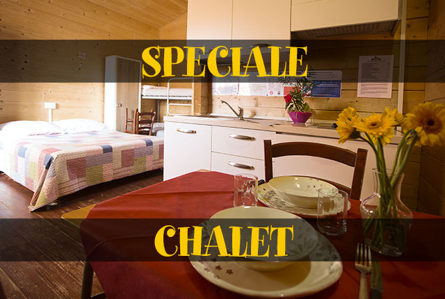 SPECIALE CHALET 5 PERSONE