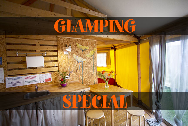 GLAMPING BUNGALOW TENT SPECIAL